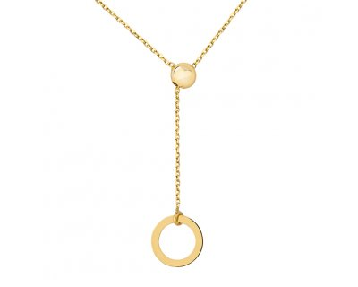 Long Maggie Necklace (GOLD)