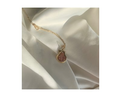 Pink Shelly Necklace