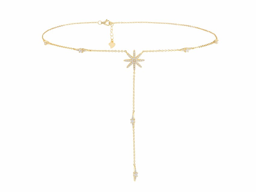 Hailey Star Lariat Necklace