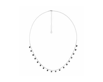 BLACK DROPS NECKLACE