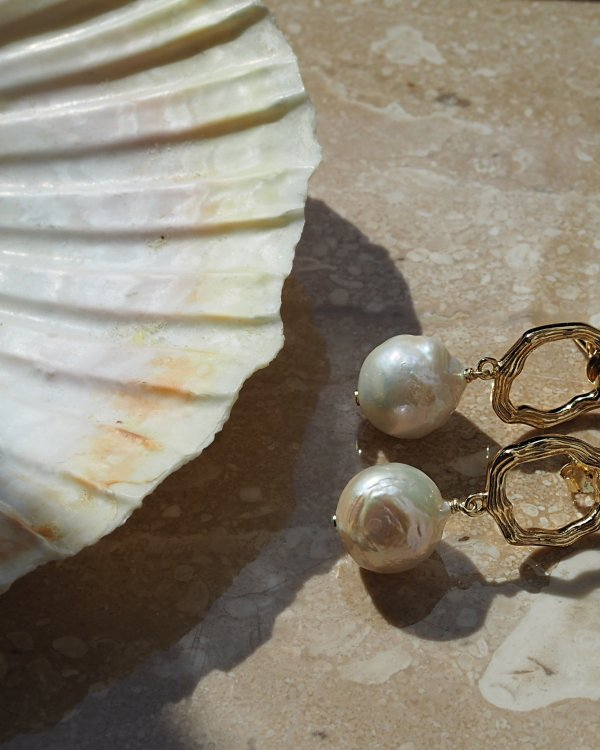 Ramina Pearl Earrings