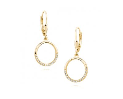 Circle Earrings (GOLD)