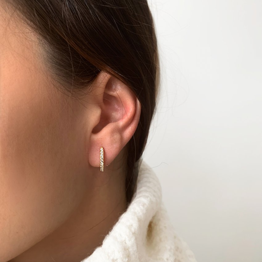 MINI HOOPS EARRING