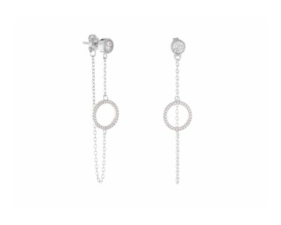 NATHALIE CHAIN EARRINGS