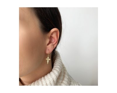 SONIA CROSS EARRINGS