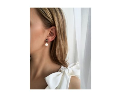 Atena Pearl Earrings
