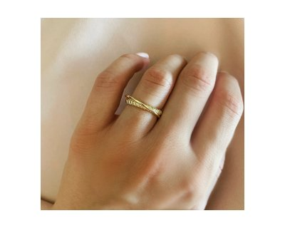 Sophia Double Gold Ring